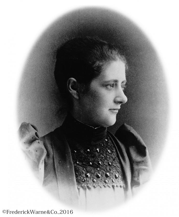 Beatrix Potter Photographs 1892 28.1.66 BP aged 23 28.1.66